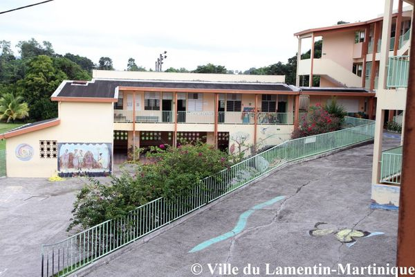 Ecole de Sarrault au Lamentin