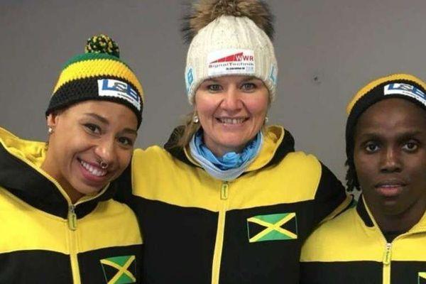 Equipe féminine bobsleigh Jamaïque