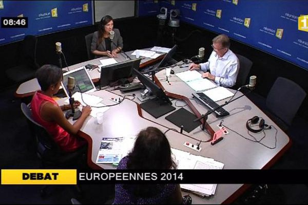 Débat cross média Européennes 2014