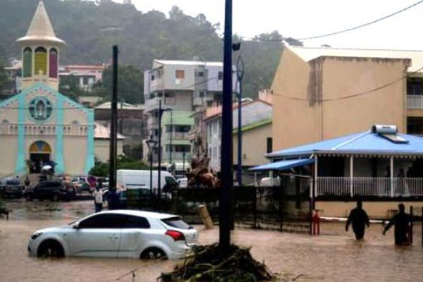 Rivière-Pilote inondations