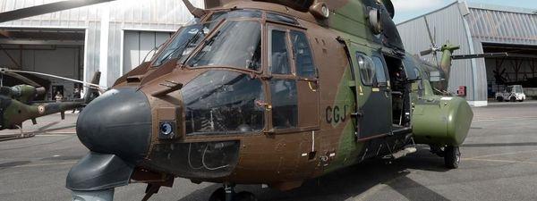 Hélicoptère Cougar