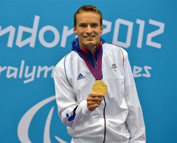 Charles Rozoy médaillé d'or Londres 2012