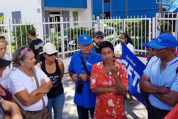 Les salariés du Groupement d'Insertion des Personnes Handicapées en grève illimitée