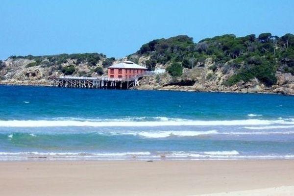 La plage de Tathra