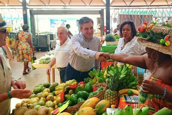 Fillon en Martinique
