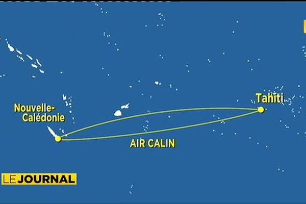 ATN et Air Calin partenaires pour trois vols hebdos Nouméa / Papeete / Los Angeles
