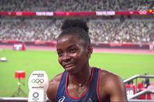 Le sourire de Gémima Joseph après sa course