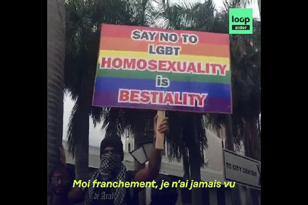 Manifestation homophobe à Maurice