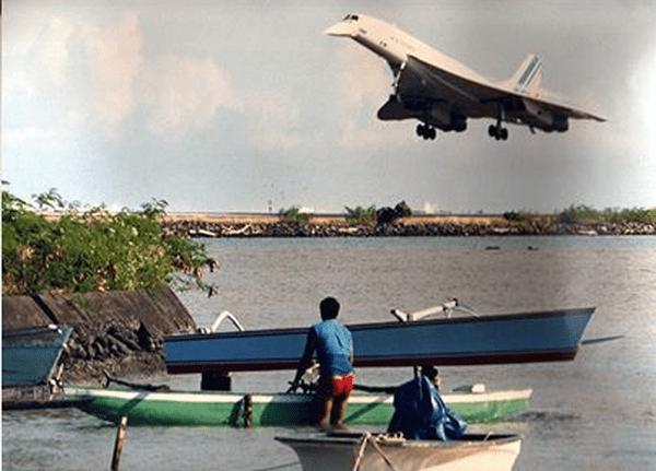 Le Concorde en 1986