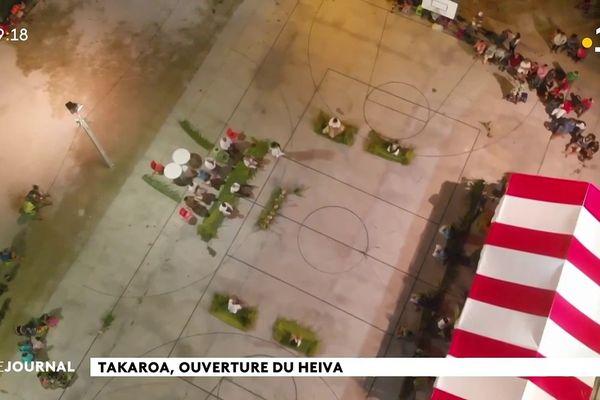 Le Heiva i Takaroa a débuté
