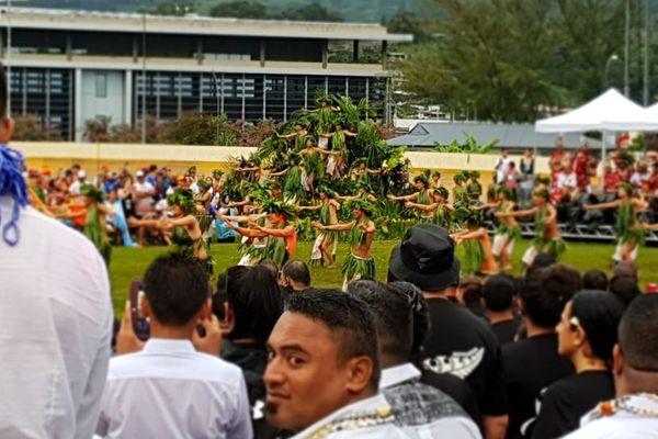 cérémonie ouverture tahiti vaa 2018