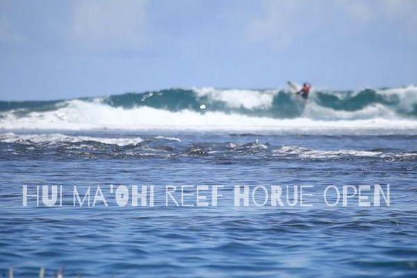 Hui ma'ohi reef horue open : palmarès de la 1ère édition de cette compétition de surf à la Pointe Vénus