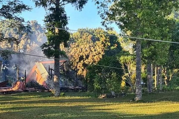 Incendie à Maré, Lio, nuit du 16 au 17 novembre