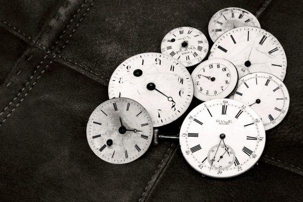 Horloges. changement d'horaire