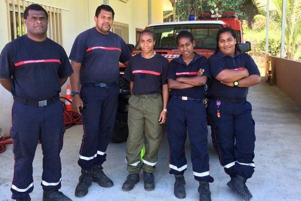 Ponérihouen : l'équipe des sapeurs-pompiers