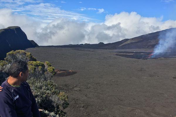 Eruption Piton de la Fournaise - Spectateurs - 20190729