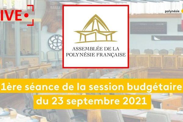 [LIVE] 1ère séance de la session budgétaire du jeudi 23 septembre 2021