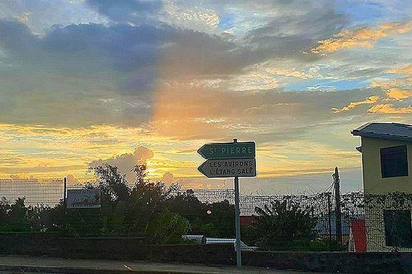Ciel sur St-Leu