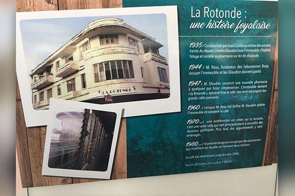 "Histoire de ""La Rotonde"""