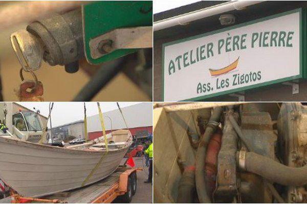 Le dernier doris à clins fabriqué par Pierre Hélène reprend vie