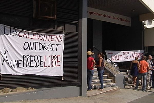 grève Nouvelles Calédoniennes