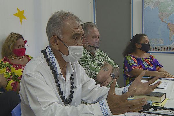 Oscar Temaru prône l'indépendance sanitaire de la Polynésie