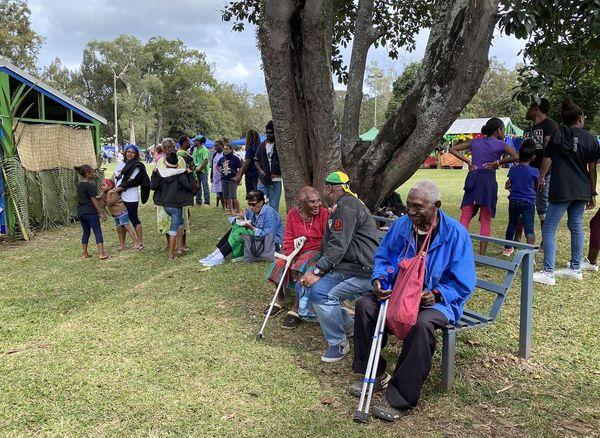 40 ans de l'indépendance du Vanuatu, Dumbéa au parc Fayard, 25 juillet 2020