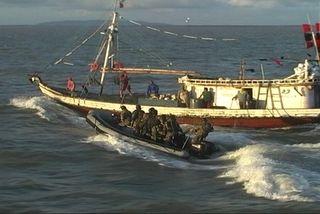 Opération pêche illégale