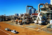 Site industriel du nickel de Ravensthorpe (First Quantum) en Australie Occidentale, région de Perth