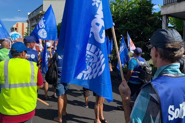 9 syndicats mobilisés en métropole