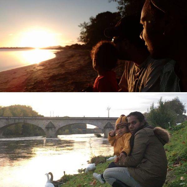 La Calédonienne est en métropole avec son compagnon et son fils