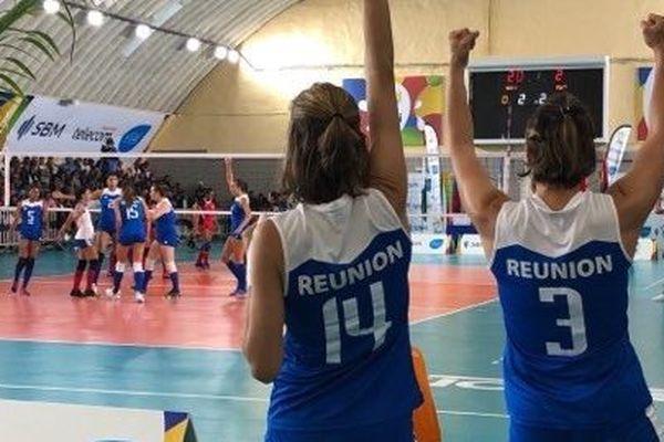 La Réunion face à Maurice pour le bronze au volley.