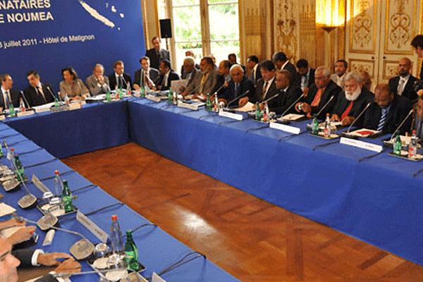 Comité des signataires de l' Accord de Nouméa