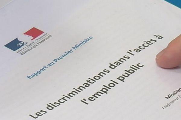 Rapport sur les discriminations Outre Mer dans la Fonction Publique