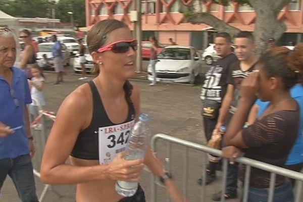 Mélanie Hauss, vainqueur 2013 des 10 km de Sainte-Suzanne
