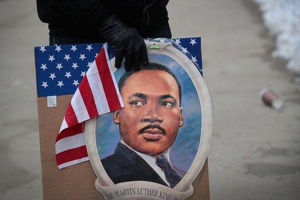 Portrait de Martin Luther King
