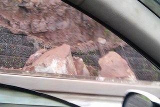 Eboulement Route Littoral 09 03 2015