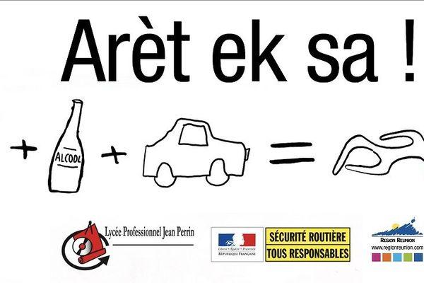 Aret ek sa : campagne contre l'alcool au volant