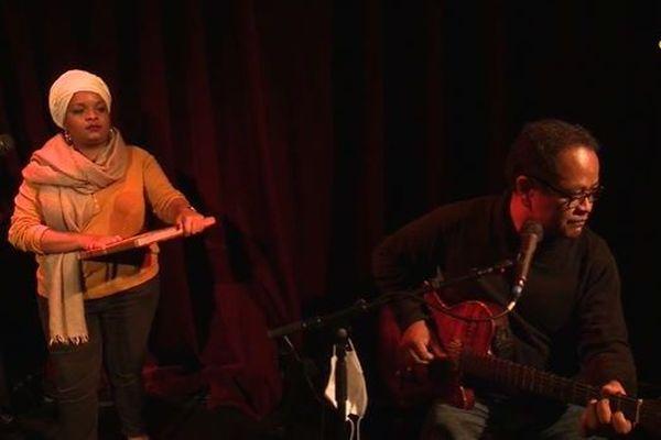 La Réunionnaise Gwendoline Absalon en concert à Paris