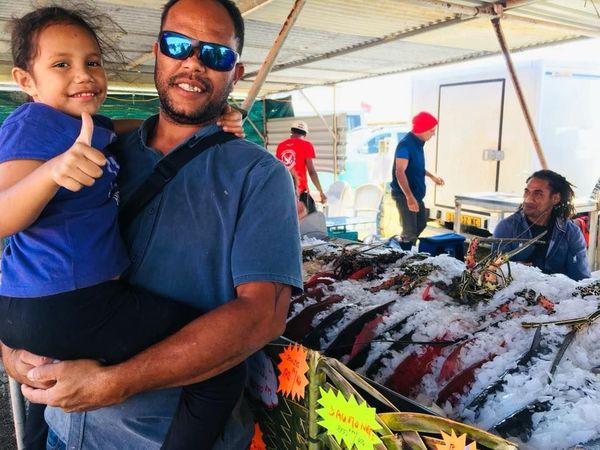 Foire de Koumac 2018, poissons