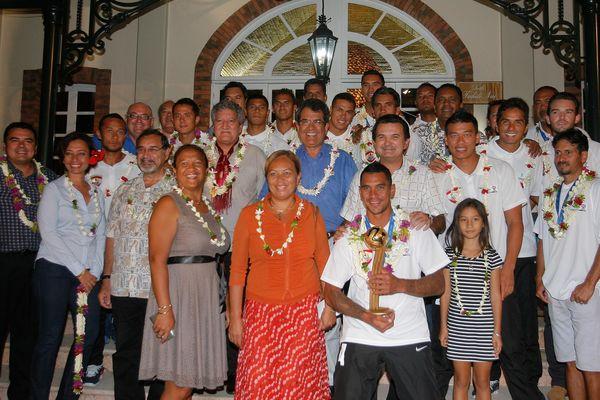Tapis rouge pour les Tiki Toa