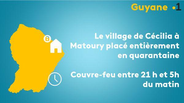 Mesures sanitaires en Guyane