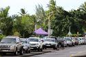 Stationnement plage Lafayette à Arue : l'incivilité des conducteurs au grand jour