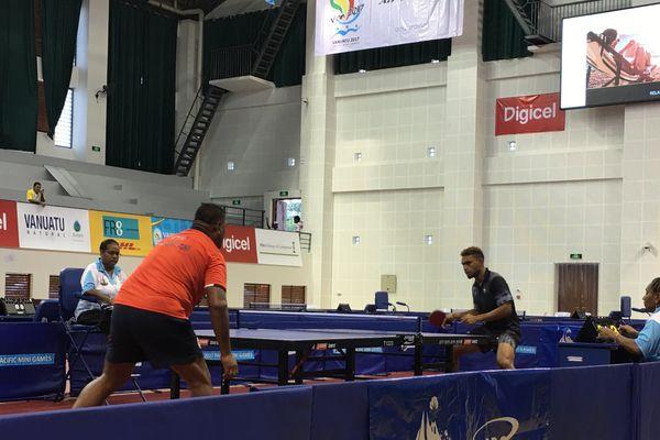 Tennis de table : match contre Fidji