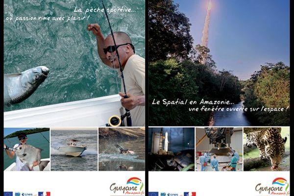La pêche sportive - le Spatial en Amazonie