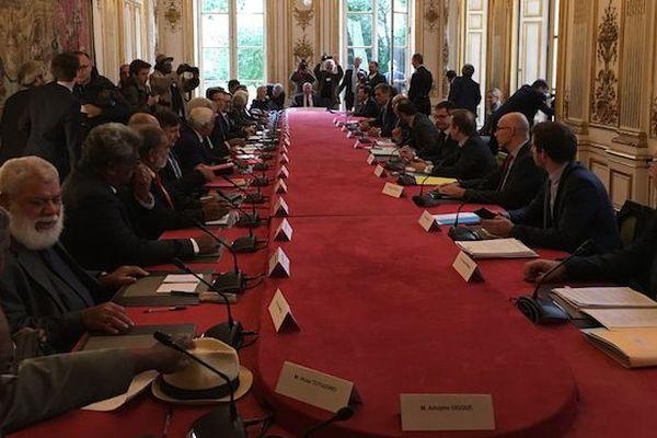 Tour de table 16è comité des signataires