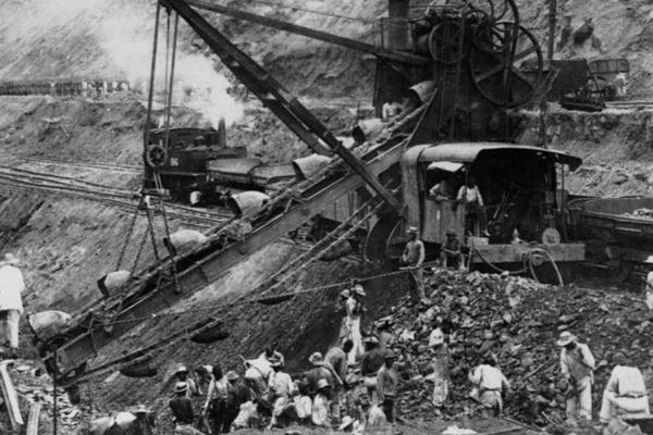 Des milliers de resortissants caribées ont travaillé sur la construction du Canal de Panama