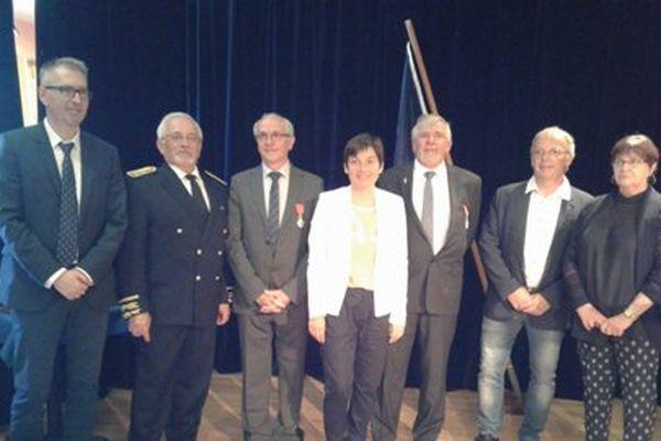 Jean de Lizarraga et Alain Orsiny décorés de la Légion d'honneur