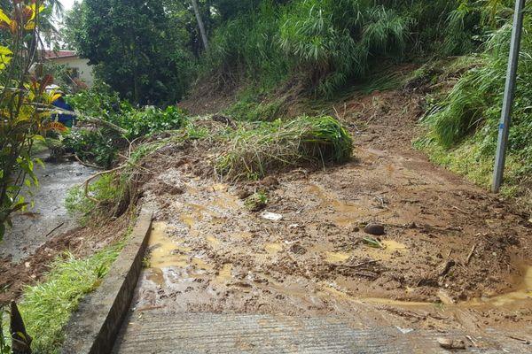 Inondations Martinique