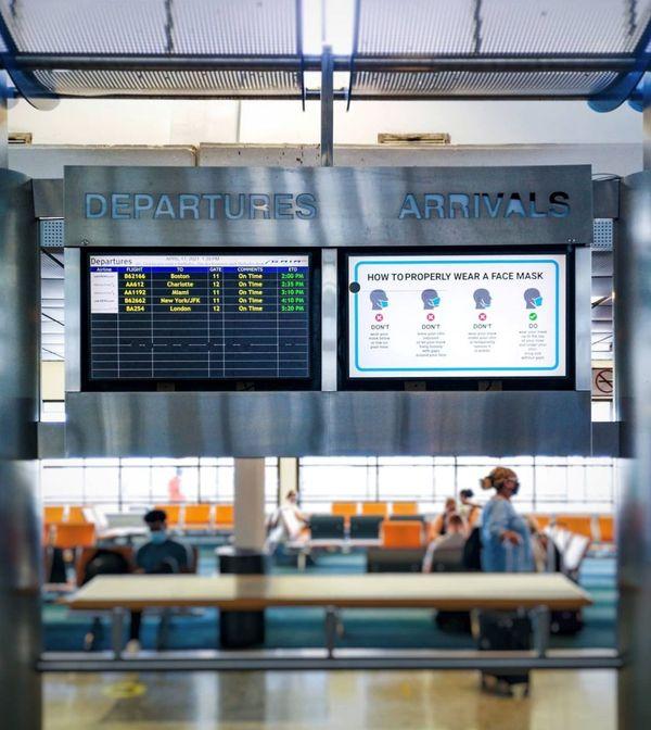 Arrival airport Barbados